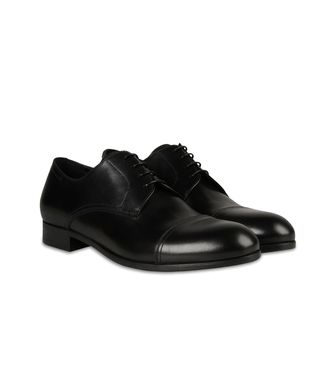 ERMENEGILDO ZEGNA: Laced shoes Dark brown - 44599204KP