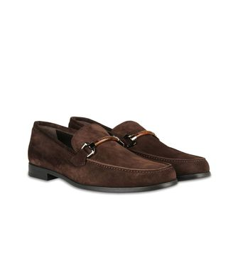 ERMENEGILDO ZEGNA: Loafers Dark brown - 44599207DW