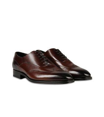 ERMENEGILDO ZEGNA: Laced shoes Dark brown - 44599212MA