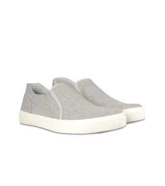 ZEGNA SPORT: Slip ons Light grey - 44599672OE