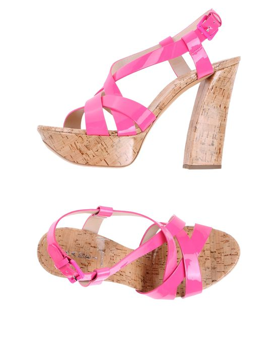 женские Босоножки на платформе CASADEI. Просмотреть все товары в рубрике Женские сандалии