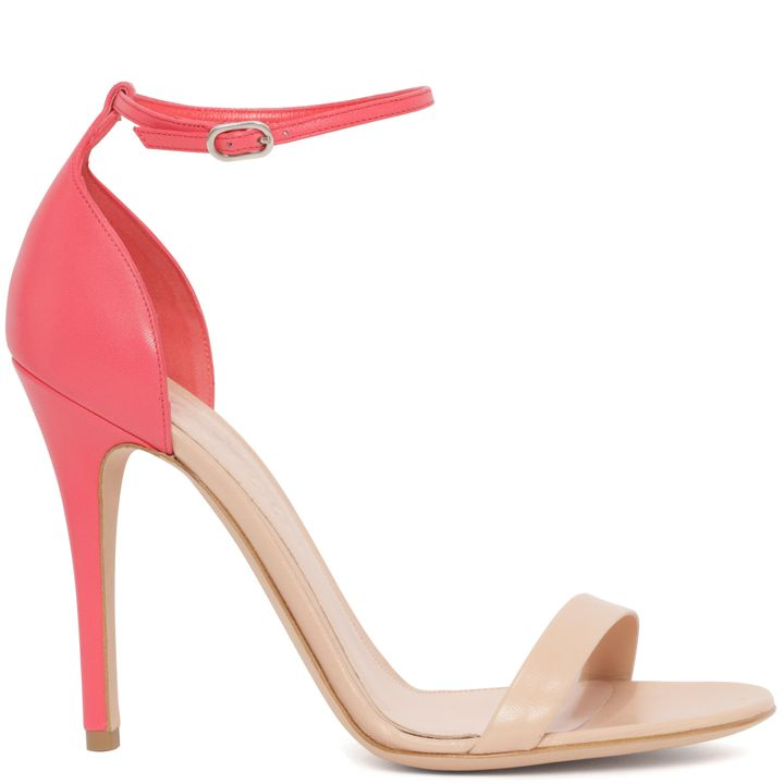 Alexander McQueen, Skinny Bi-Colour Heeled Sandal