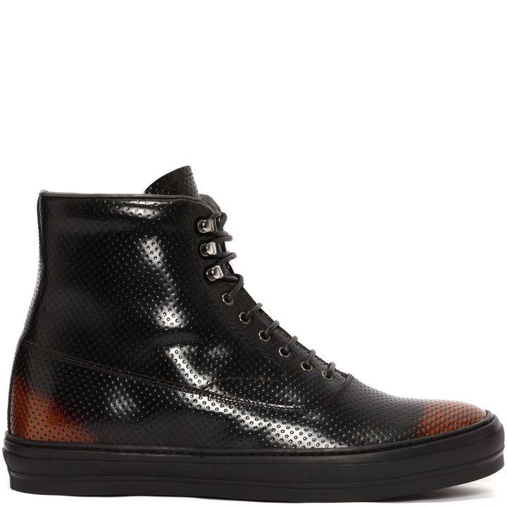 Alexander McQueen, High-Top Artisanal Sneaker