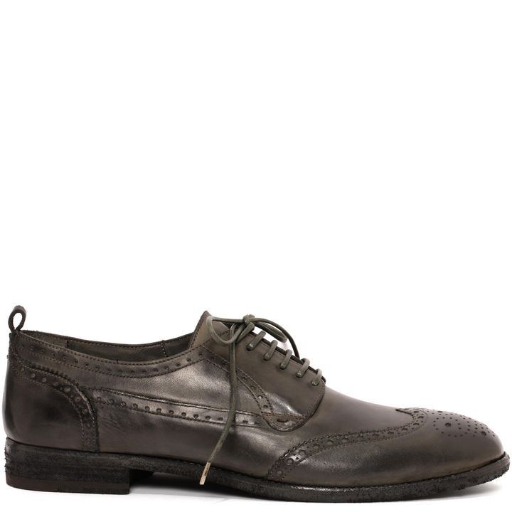 Alexander McQueen, Washed Brogue Lace Up