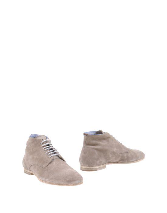 Высокие ботинки ESSEUTESSE. Цвет: серый