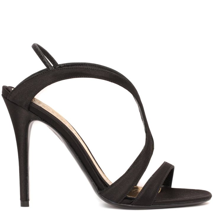 Alexander McQueen, Silk Satin Evening Sandal
