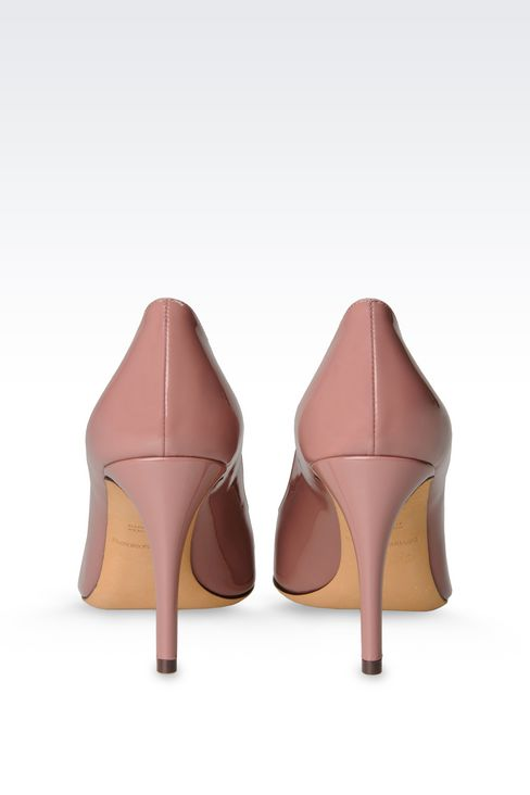 PATENT COURT: Closed-toe slip-ons  Women by Armani - 3