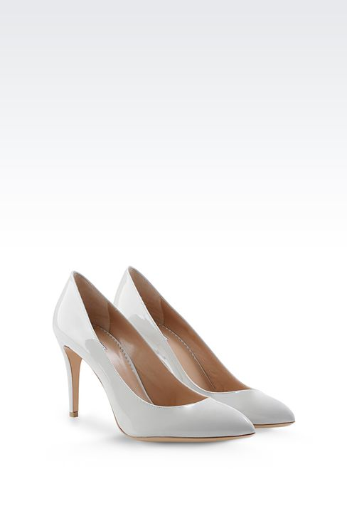 PATENT COURT: Closed-toe slip-ons  Women by Armani - 2