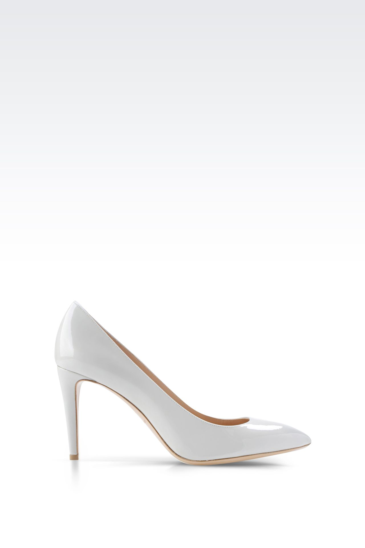 PATENT COURT: Closed-toe slip-ons  Women by Armani - 0