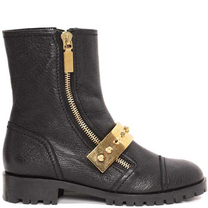 Alexander McQueen, Metal Bar Biker Boot