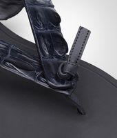 Sandalo Dark Prusse in Coccodrillo