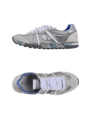 WHITE PREMIATA - Low-tops