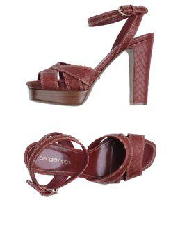 Sandalias con plataforma - SERGIO ROSSI EUR 249.00