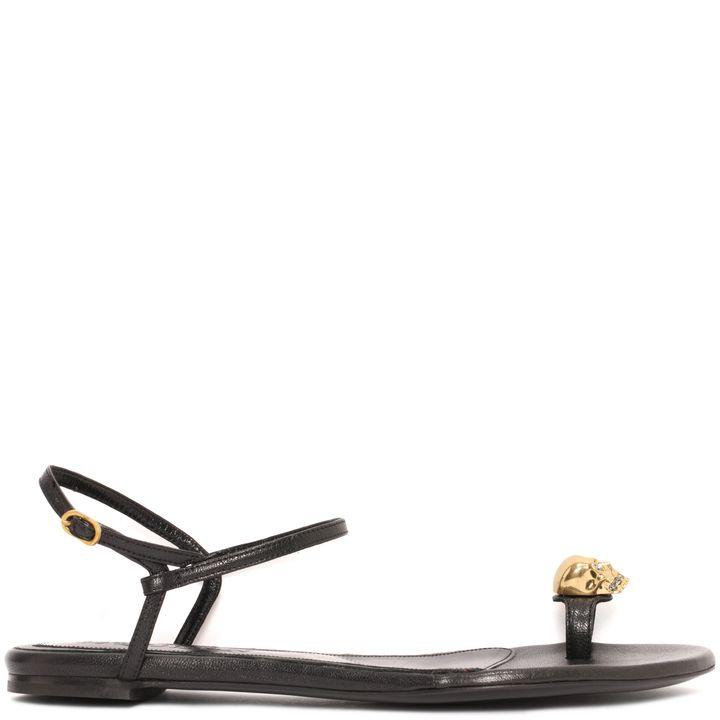Alexander McQueen, Classic Metal Skull Sandal