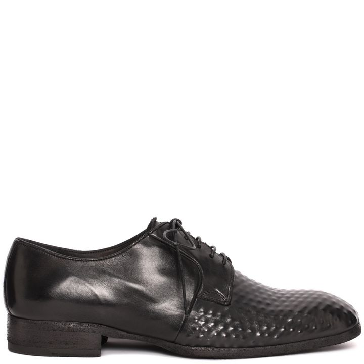 Alexander McQueen, Vacuum Studded Lace-Up Shoe