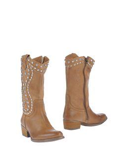 MANAS Ψηλοτάκουνες μπότες