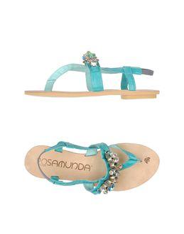 Sandalias de dedo - ROSAMUNDA EUR 79.00