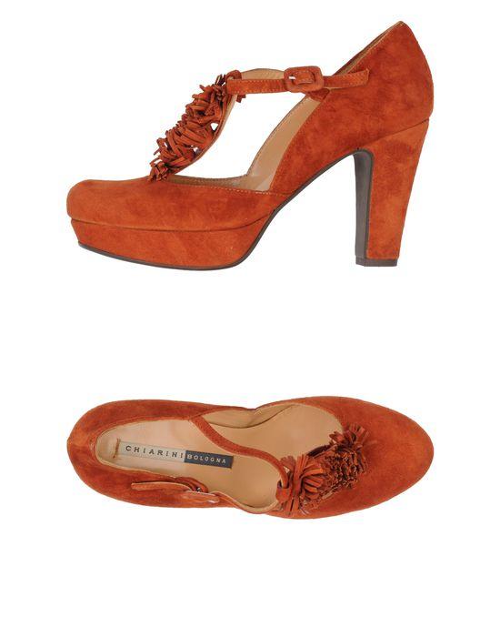 Туфли на платформе CHIARINI BOLOGNA - замша, одноцветное изделие, пряжка, скругленный носок