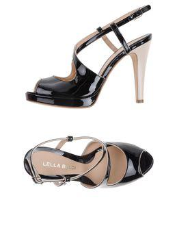 Sandalias con plataforma - LELLA BALDI EUR 123.00