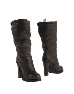 BIKKEMBERGS Ψηλοτάκουνες μπότες