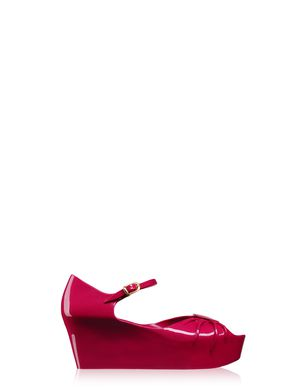 Super Bow Open-Toe Shoe