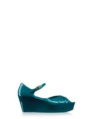Super Bow Open-Toe Shoe