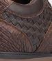 BOTTEGA VENETA Espresso Intrecciato Calf Soft Caiman Sneaker Trainers U ap