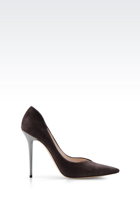 SUEDE PUMP: Closed-toe slip-ons  Women by Armani - 1