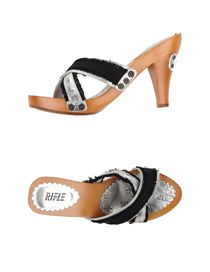 RIFLE - Open-toe mule