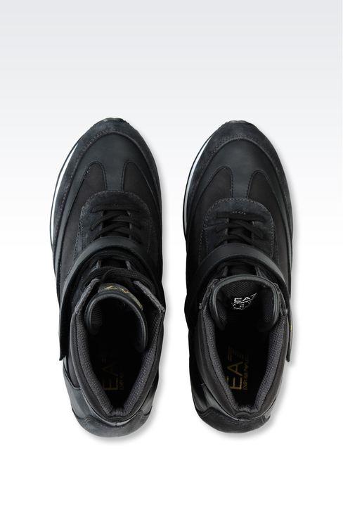 HIGH TOP SNEAKER WITH WEDGE: Footwear Women by Armani - 3