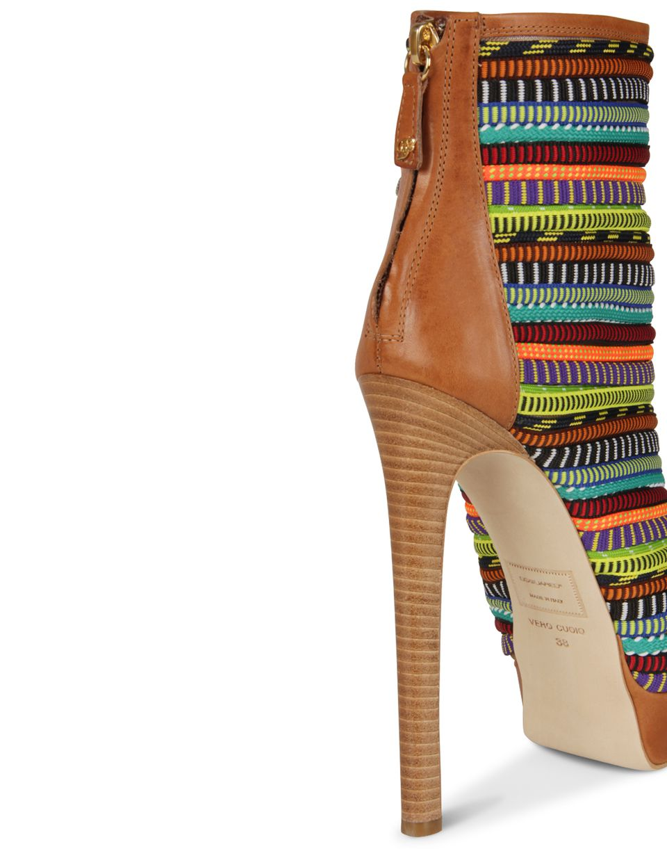 african spirit ankle boot shoes Woman Dsquared2