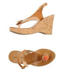 GIALLO POSITANO - Flip flops & clog sandals