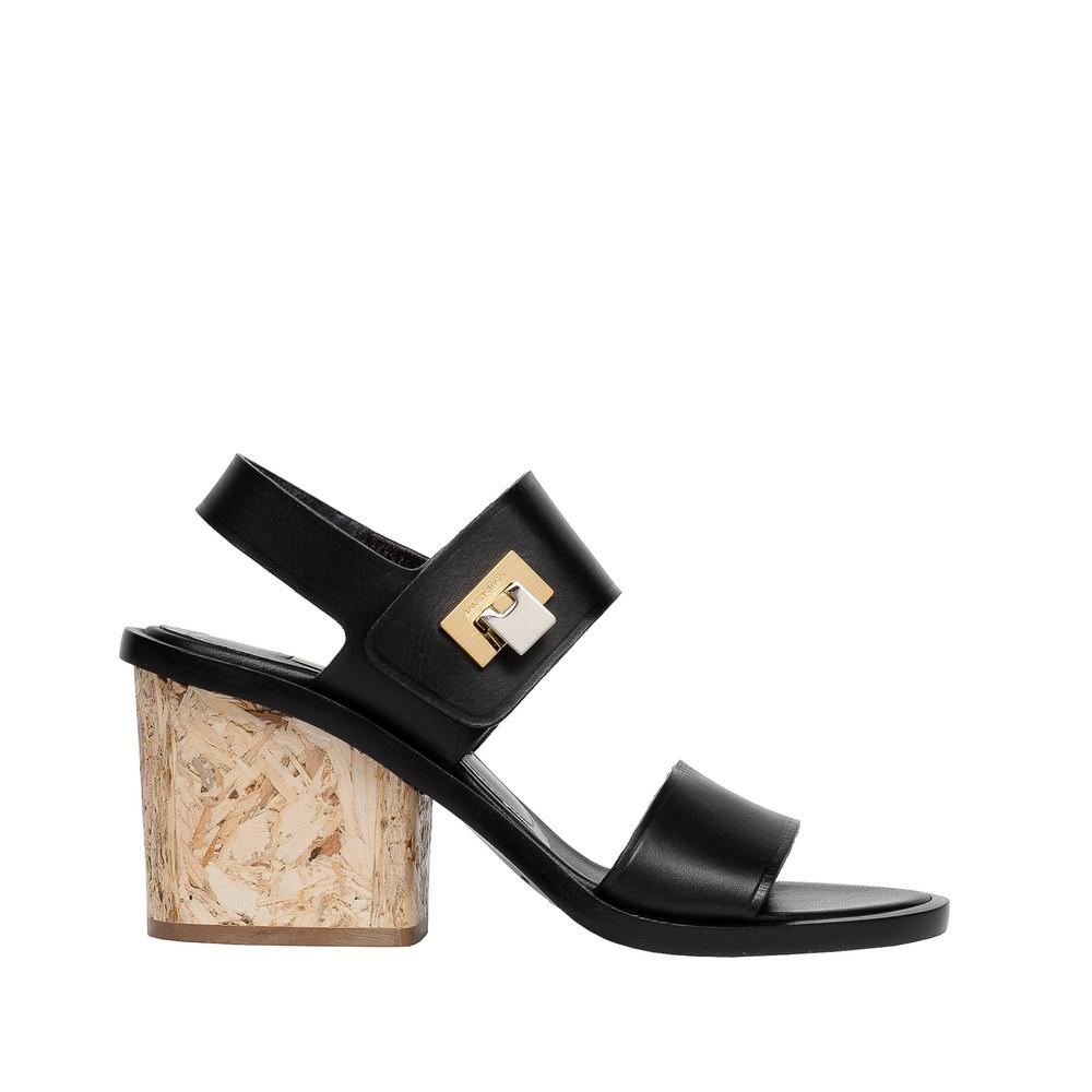 Balenciaga Wood Sandal