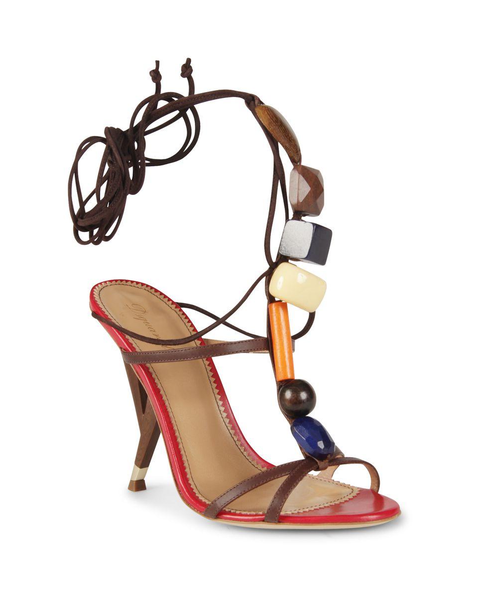 stones sandal shoes Woman Dsquared2