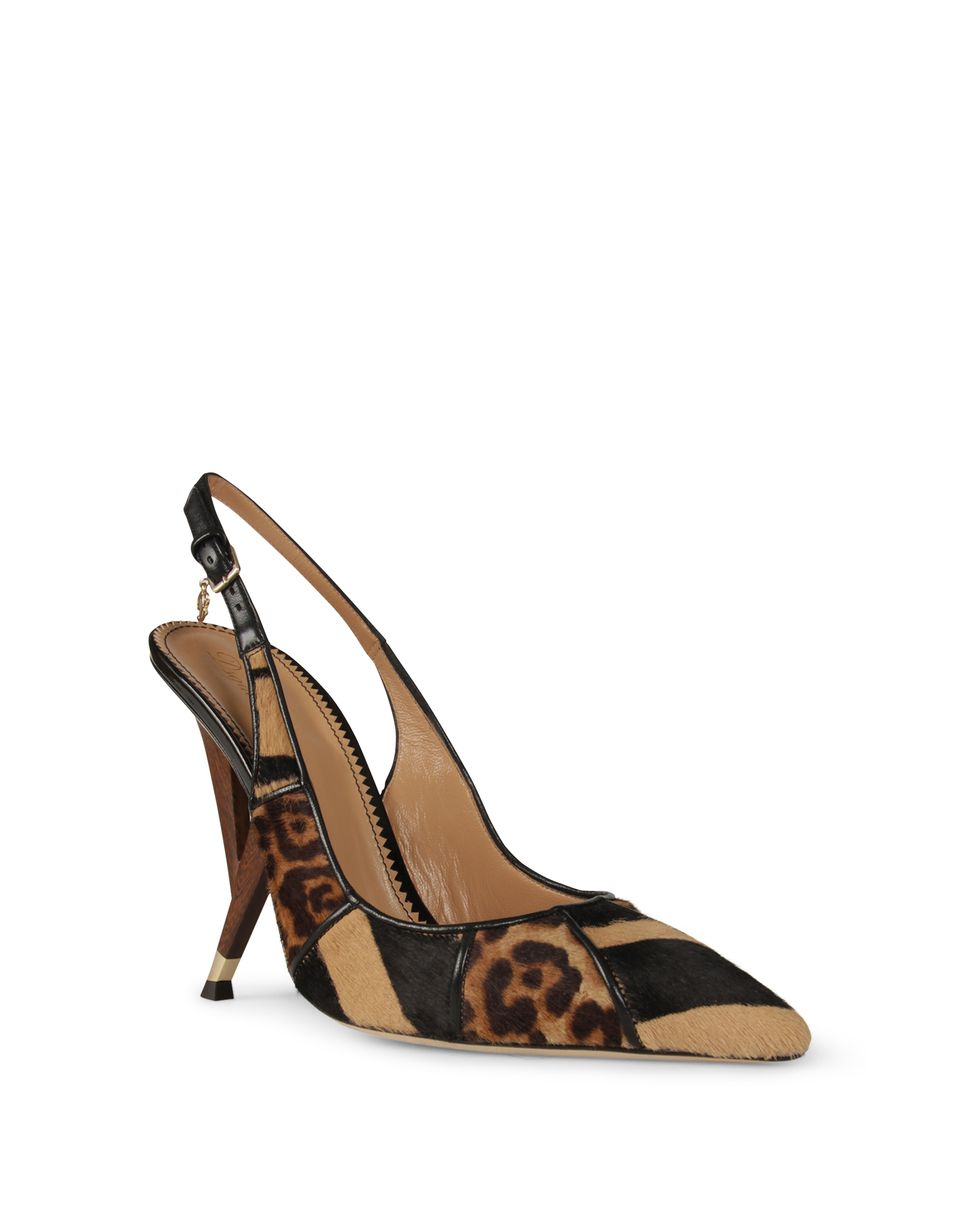 blixen sling back shoes Woman Dsquared2