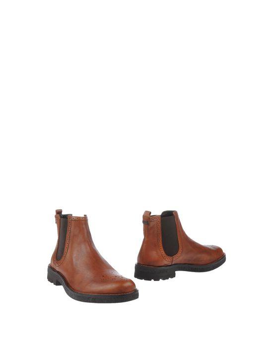 Полусапоги и высокие ботинки ESSEUTESSE. Цвет: коричневый