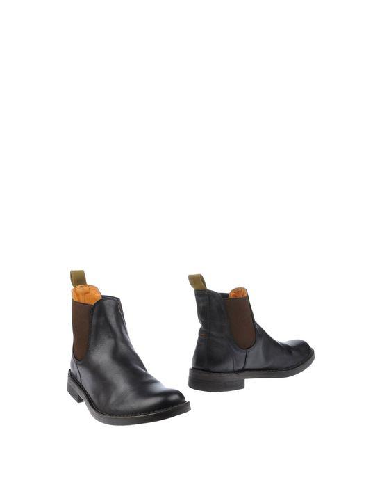 Полусапоги и высокие ботинки ESSEUTESSE. Цвет: черный