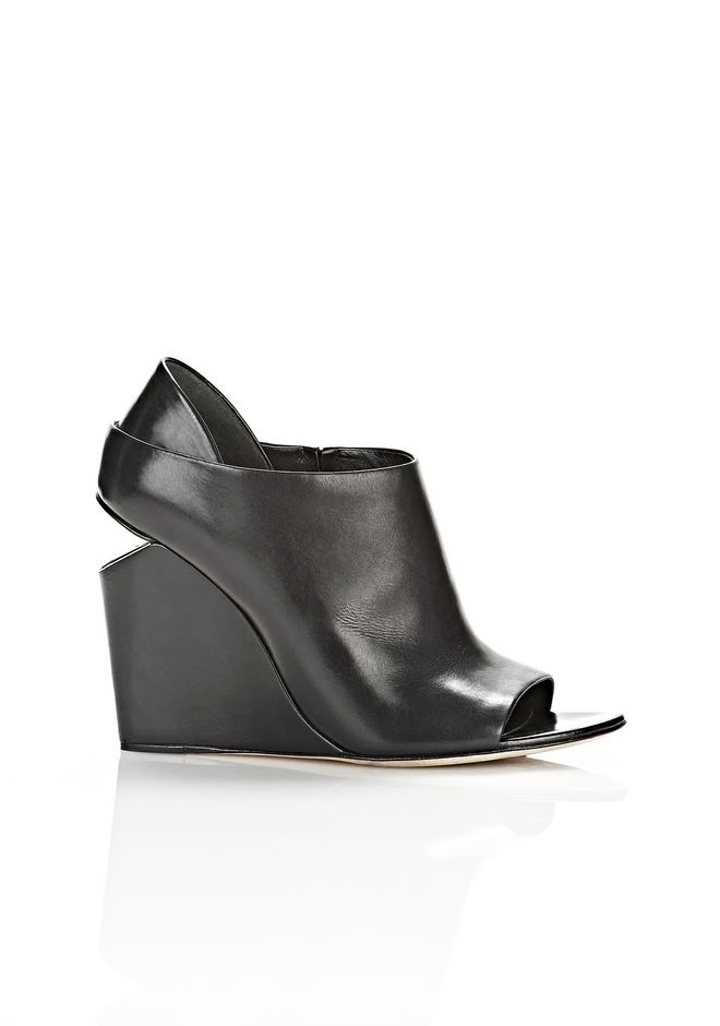 ALLA WEDGE WITH RHODIUM