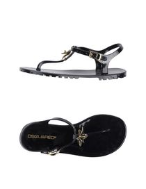 DSQUARED2 - Flip flops & clog sandals