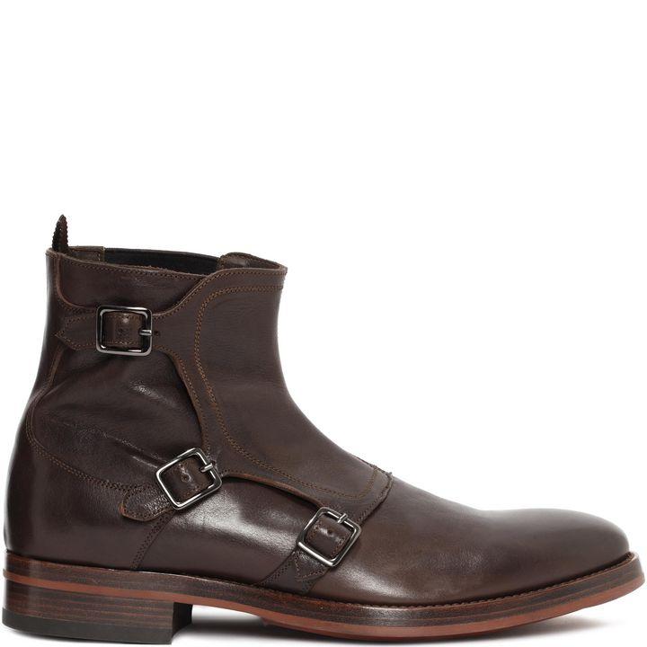 Alexander McQueen, Gable 3 Buckle Boot
