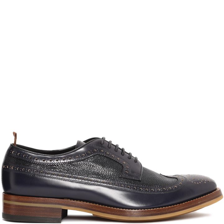 Alexander McQueen, Brogue Derby Lace-Up Shoe