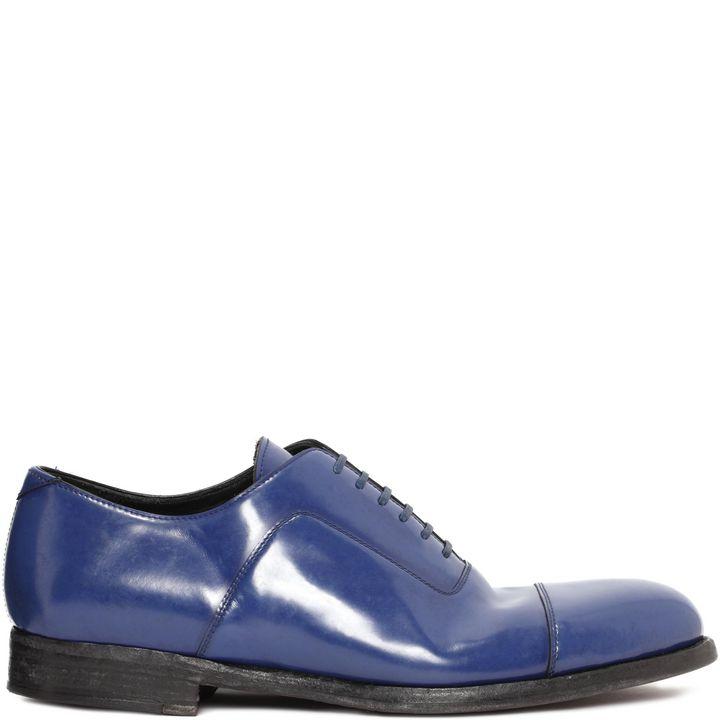 Alexander McQueen, Toe Cap Lace-Up Shoe