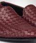 BOTTEGA VENETA OUTDOOR SLIPPER AUBERGINE IN FOULARD CALF INTRECCIATO Mocassino o pantofola U ap