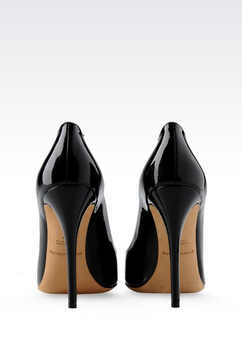PATENT COURT : Closed-toe slip-ons  Women by Armani - 3