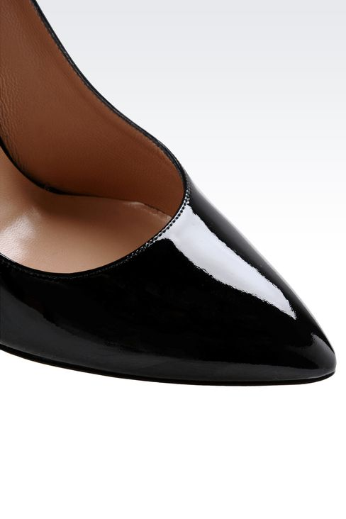 PATENT COURT : Closed-toe slip-ons  Women by Armani - 4