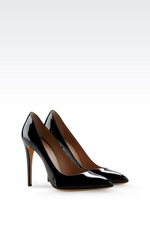 PATENT COURT : Closed-toe slip-ons  Women by Armani - 2