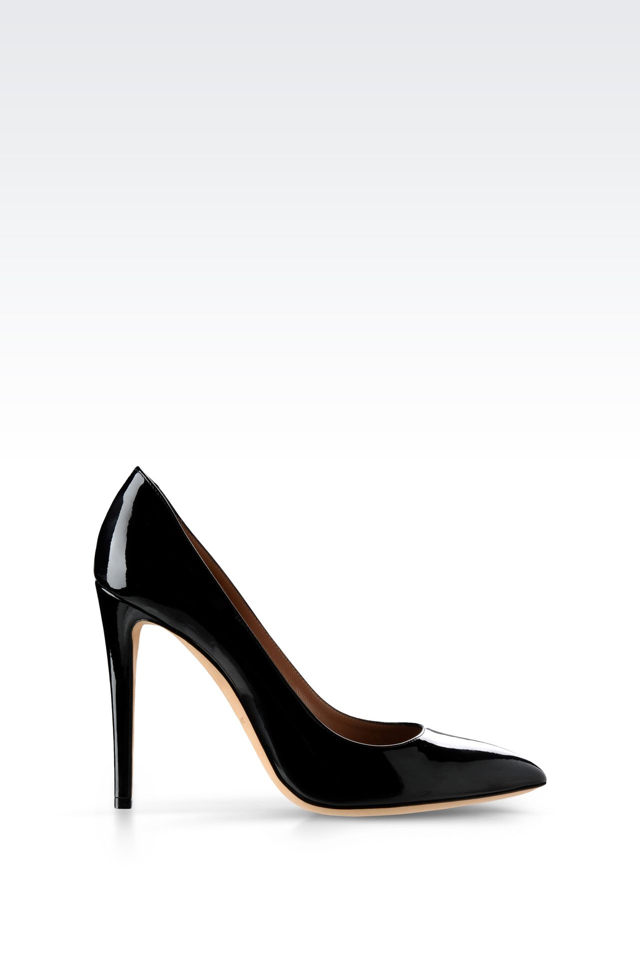 PATENT COURT : Closed-toe slip-ons  Women by Armani - 0