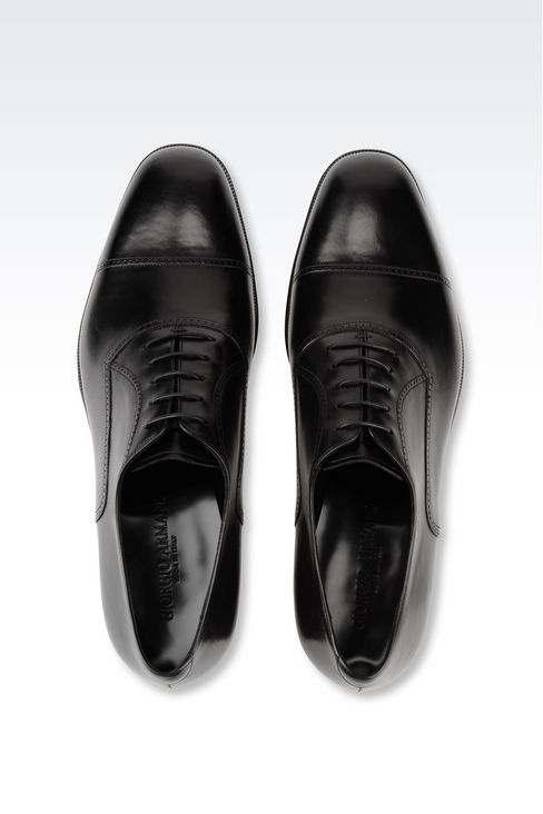 CALFSKIN BROGUE: Lace-up shoes Men by Armani - 4