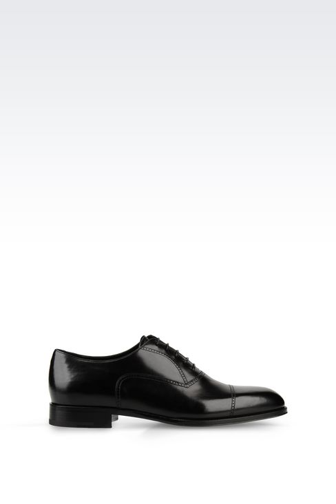 CALFSKIN BROGUE: Lace-up shoes Men by Armani - 1