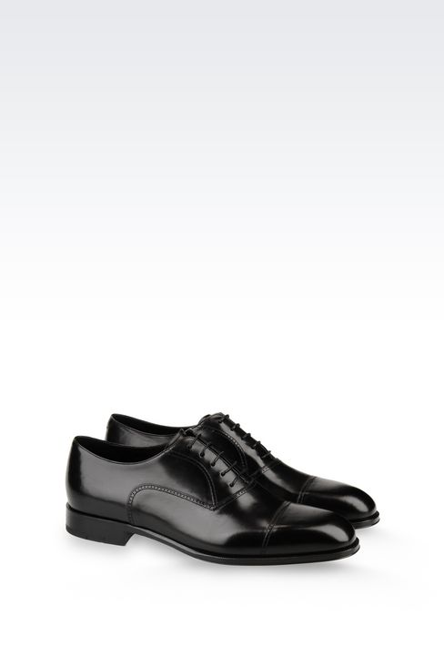 CALFSKIN BROGUE: Lace-up shoes Men by Armani - 2